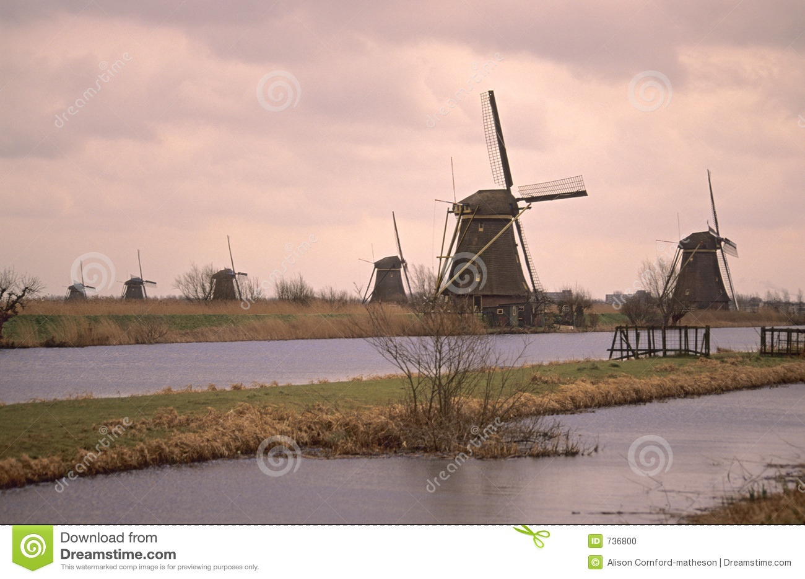 Site d héritage de l UNESCO - Kinderdijk