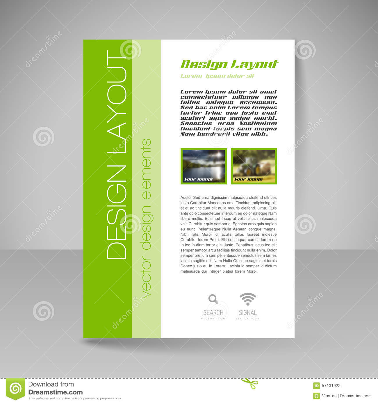 Site Layout For Design   Flyer