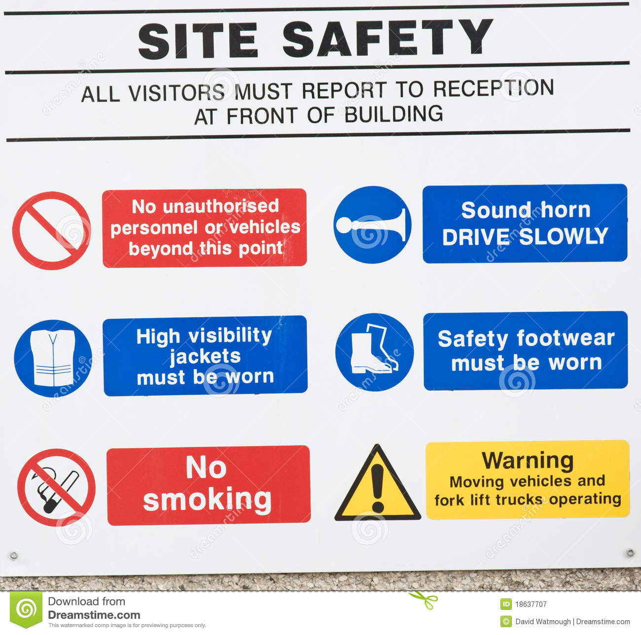 Site safety: do s and don ts.