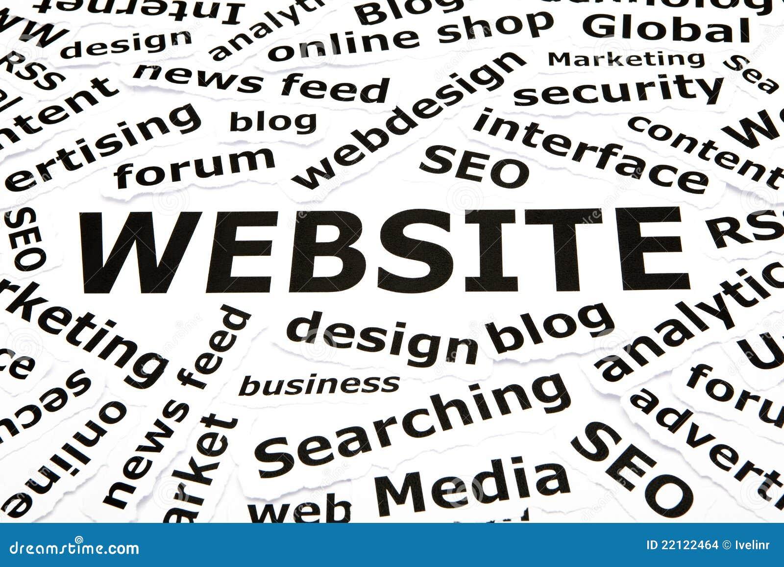 Site Web avec d autres mots relatifs