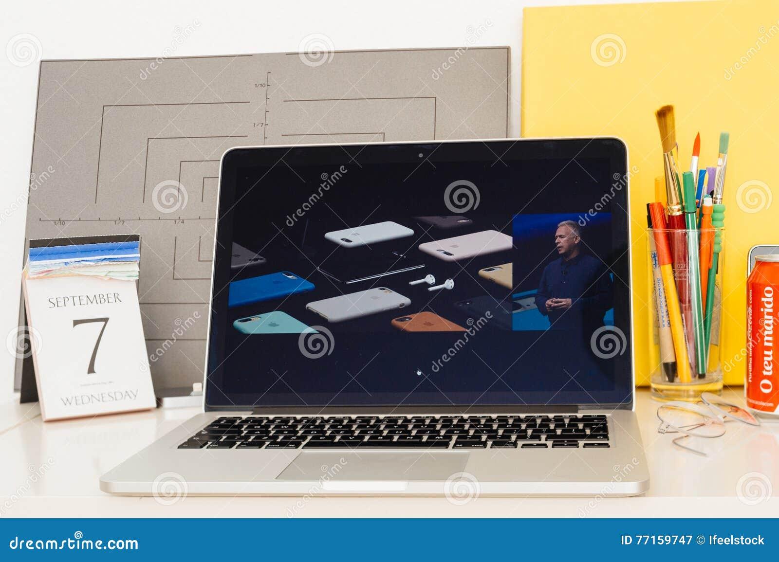 Site Web d ordinateurs Apple présentant, iphone 7 accessoires,