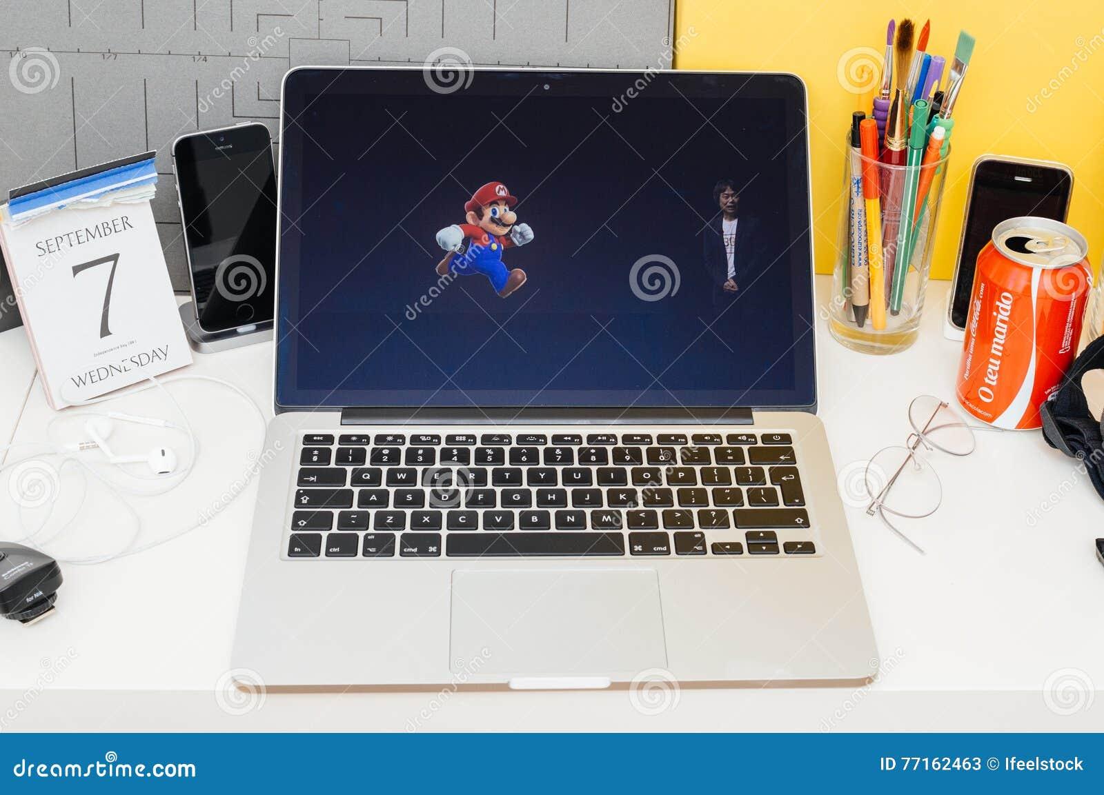 Site Web d ordinateurs Apple présentant Shigeru Miyamoto au sujet de superbe