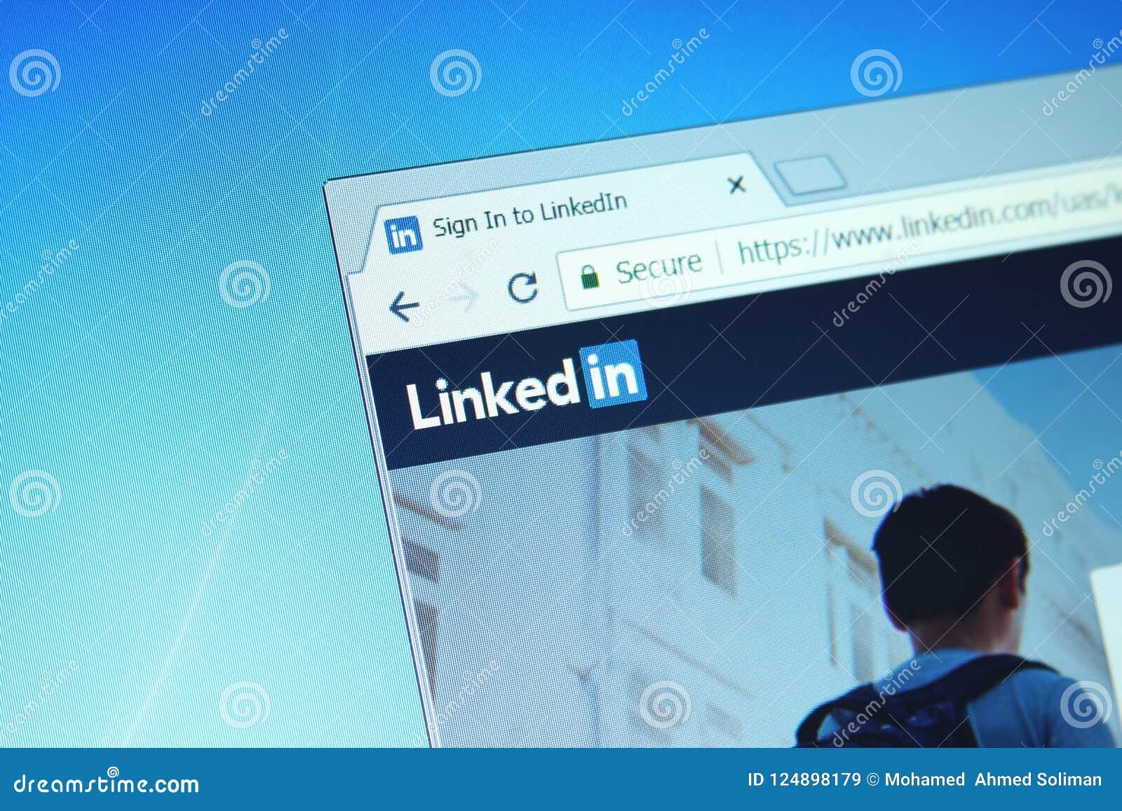 Site Web de LinkedIn