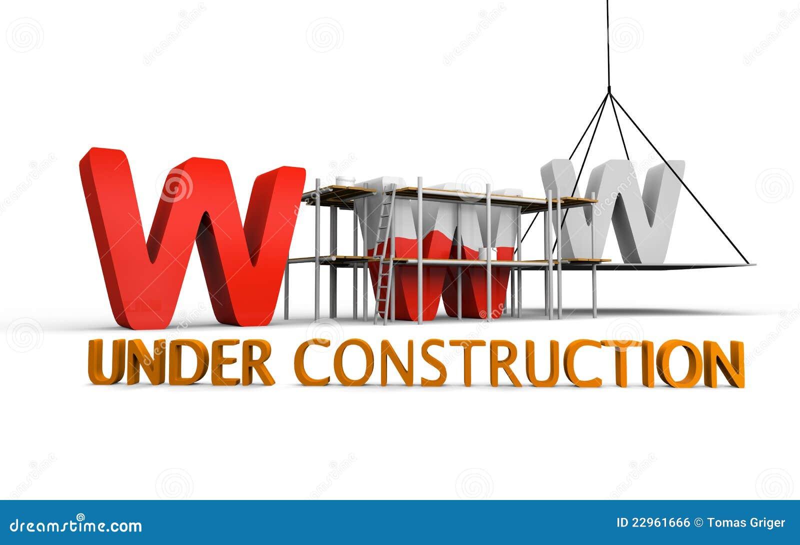 Site Web En Construction Illustration Stock Illustration Du Website