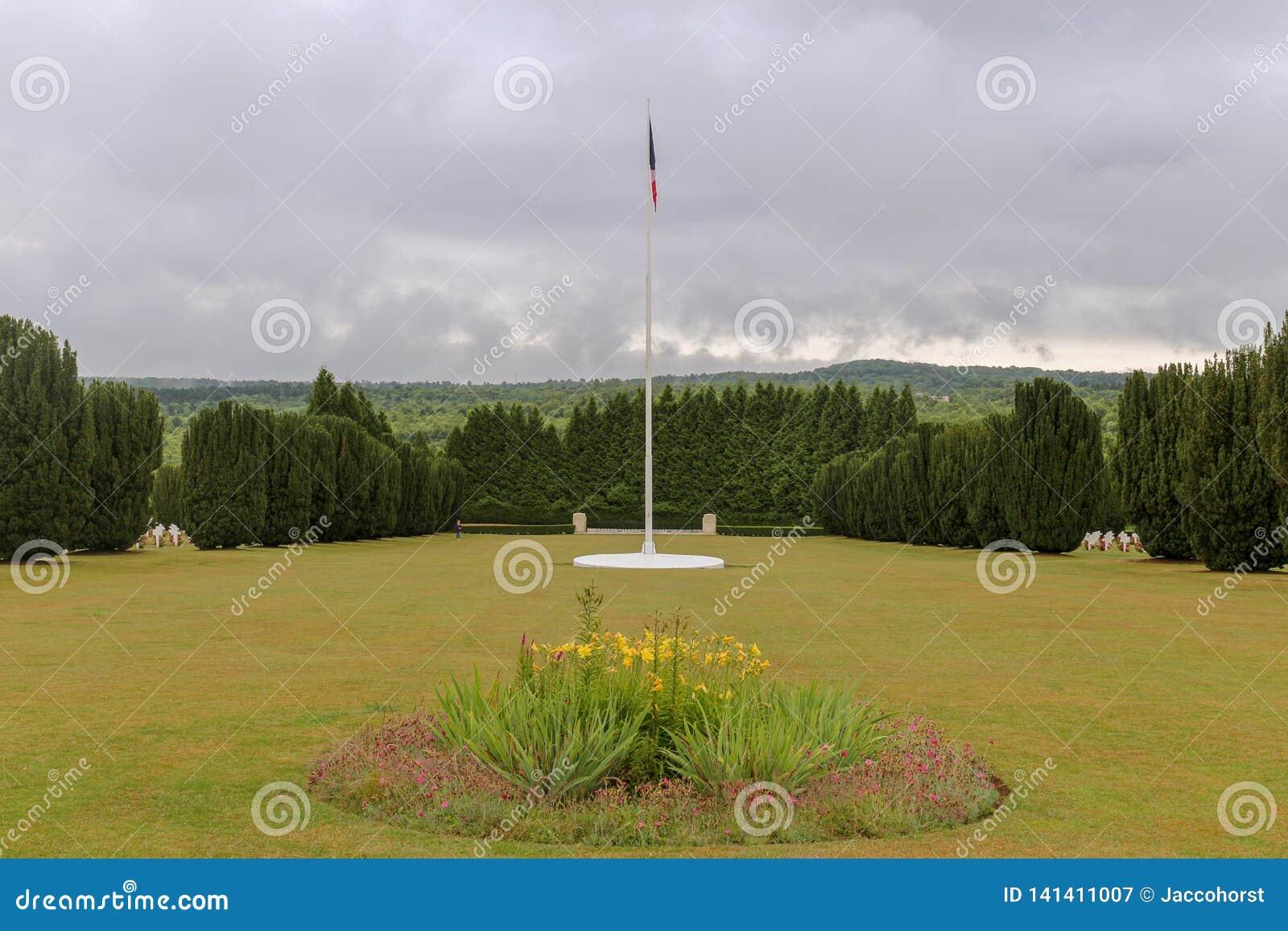 Site WW1 grave pour les soldats tombés