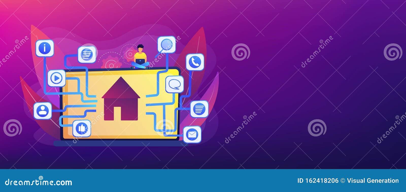 Sitemap creation concept banner header