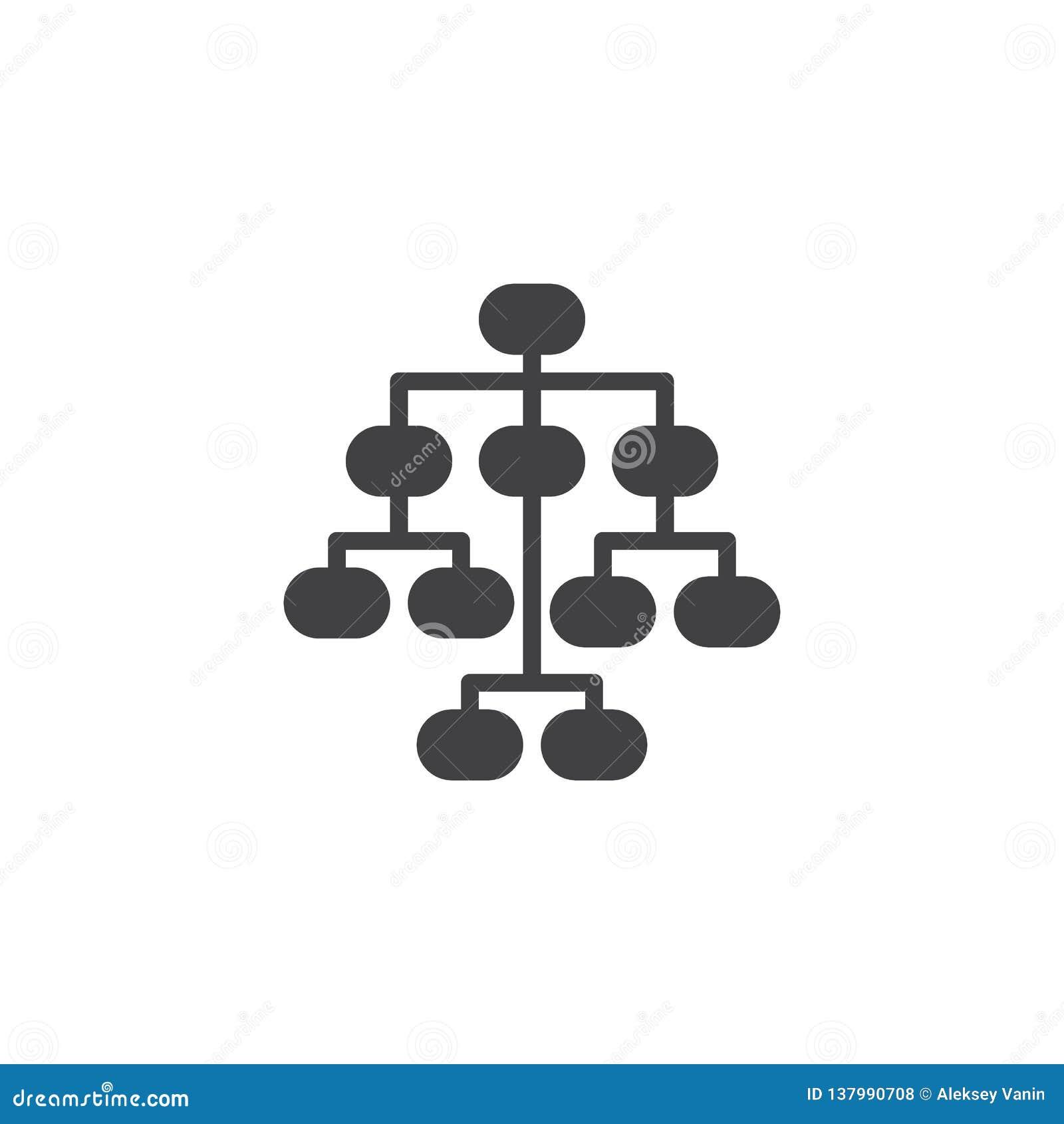 Sitemap vectorpictogram