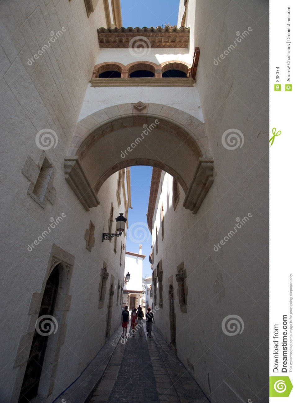 Sitges Archway