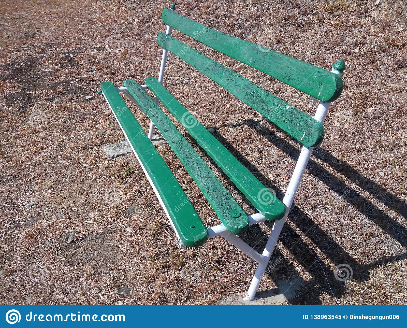 Marvelous Siting Bench Stock Image Image Of Alone Background 138963545 Caraccident5 Cool Chair Designs And Ideas Caraccident5Info