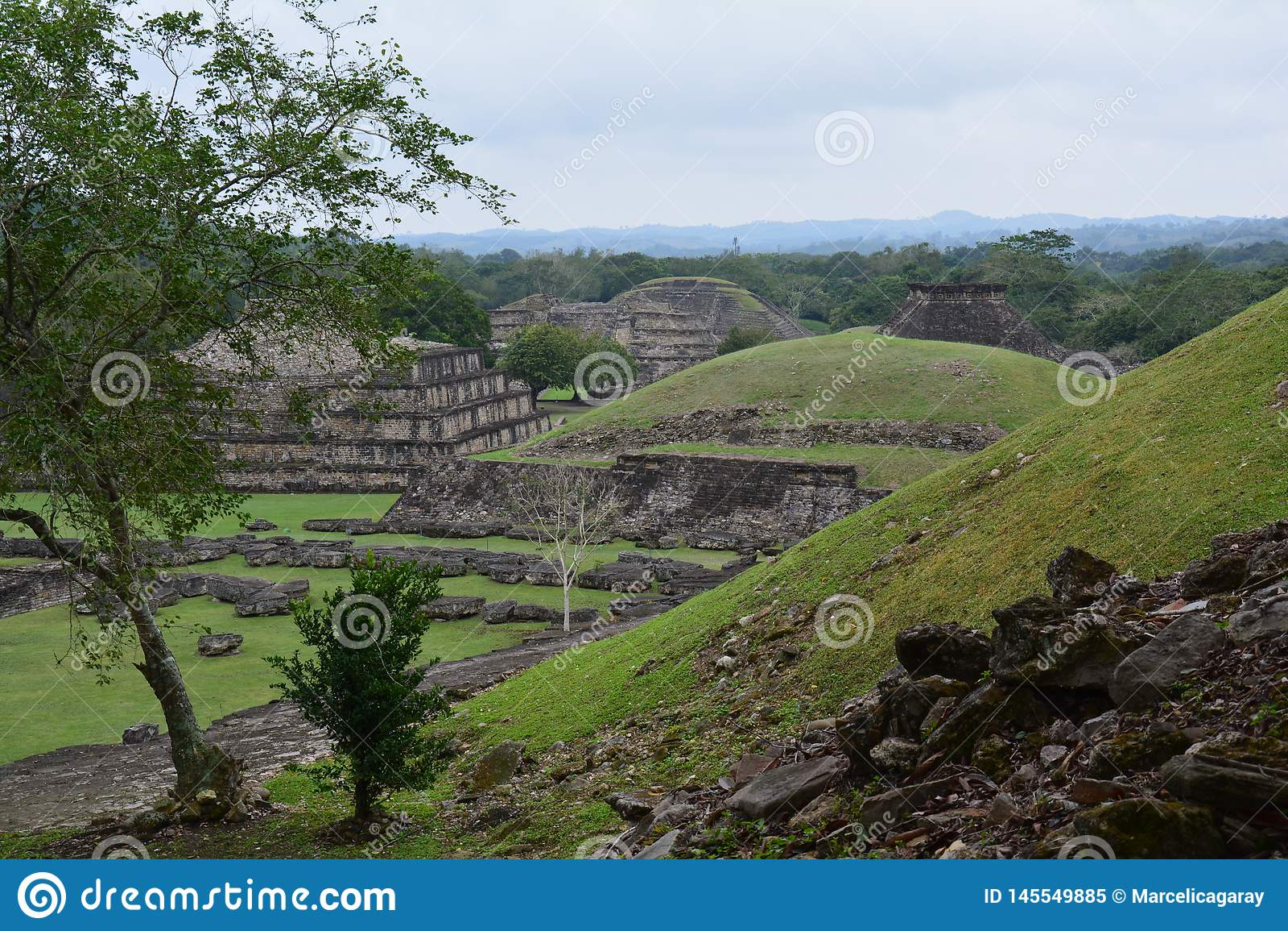 Sitio arqueológico Veracruz México del EL Tajin