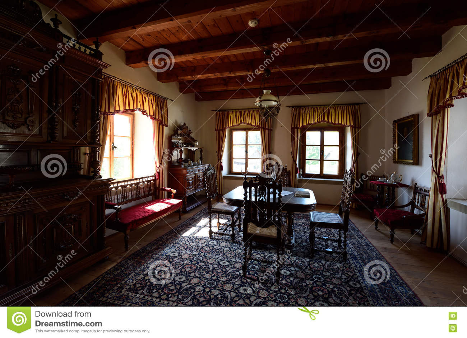 Sitio de la casa señorial, Pribylina, Eslovaquia