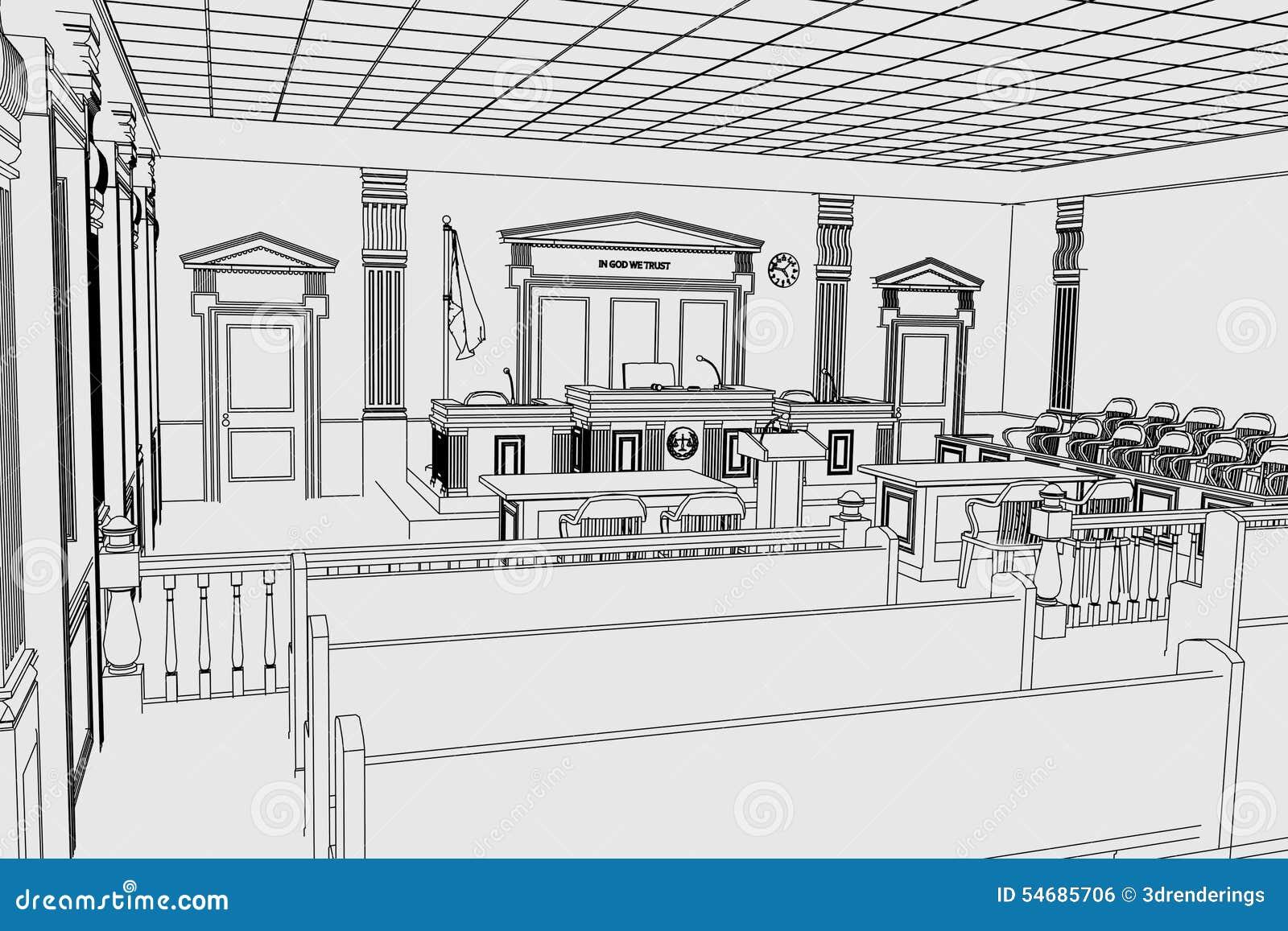 Sitio de la corte