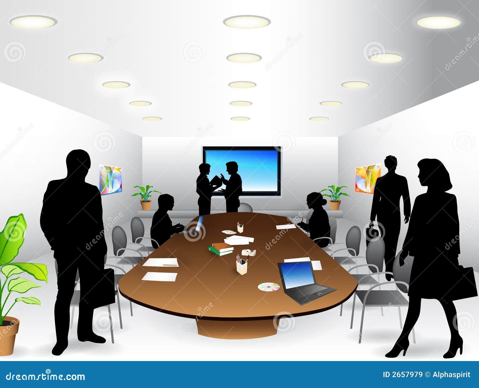 Sitio de reunión de negocios