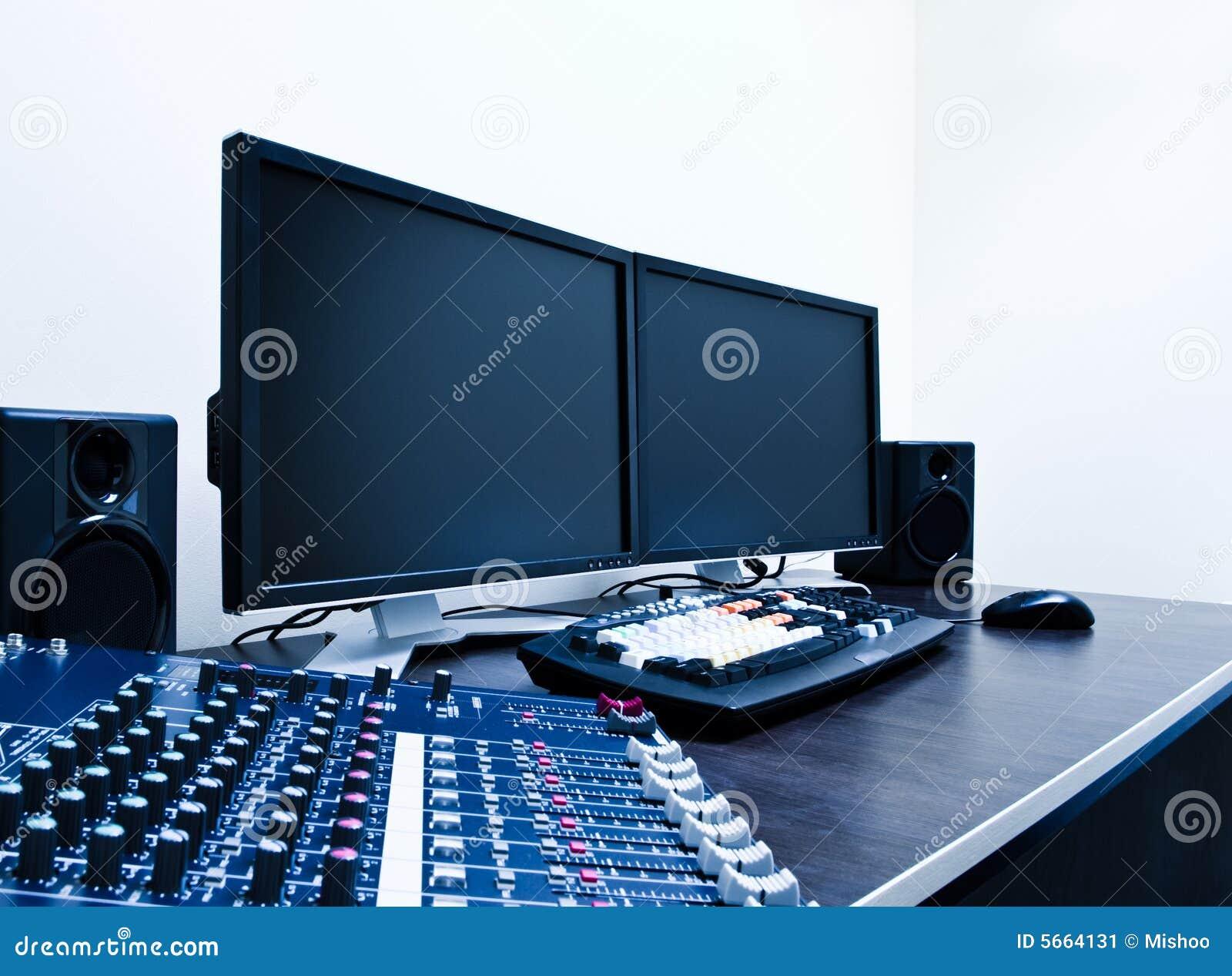 Sitio de trabajo que corrige video
