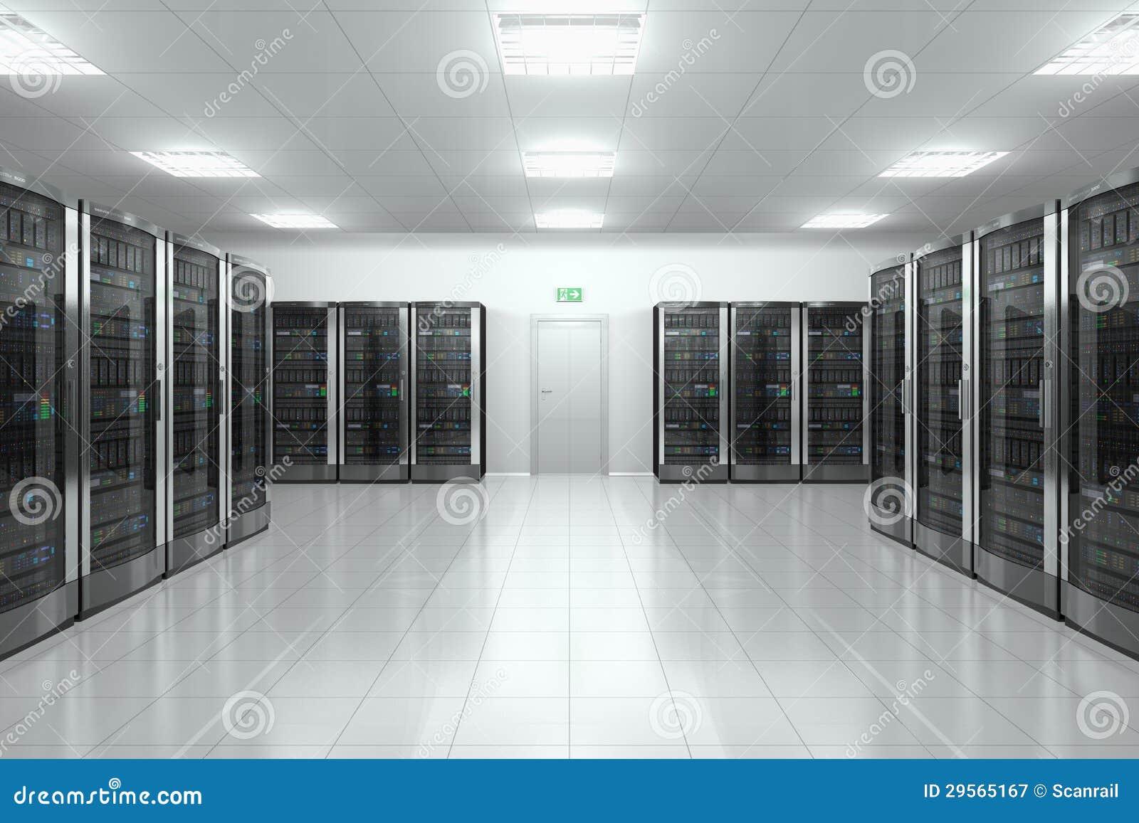 Sitio del servidor en datacenter