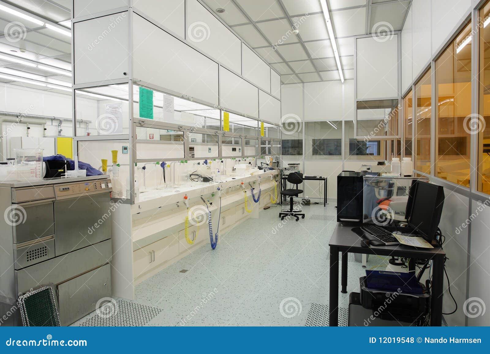 Sitio limpio de alta tecnología