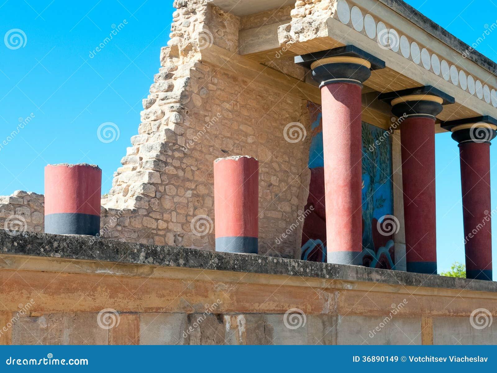 Download Sito Antico Di Cnosso In Creta Immagine Stock - Immagine di civilizzazione, storico: 36890149
