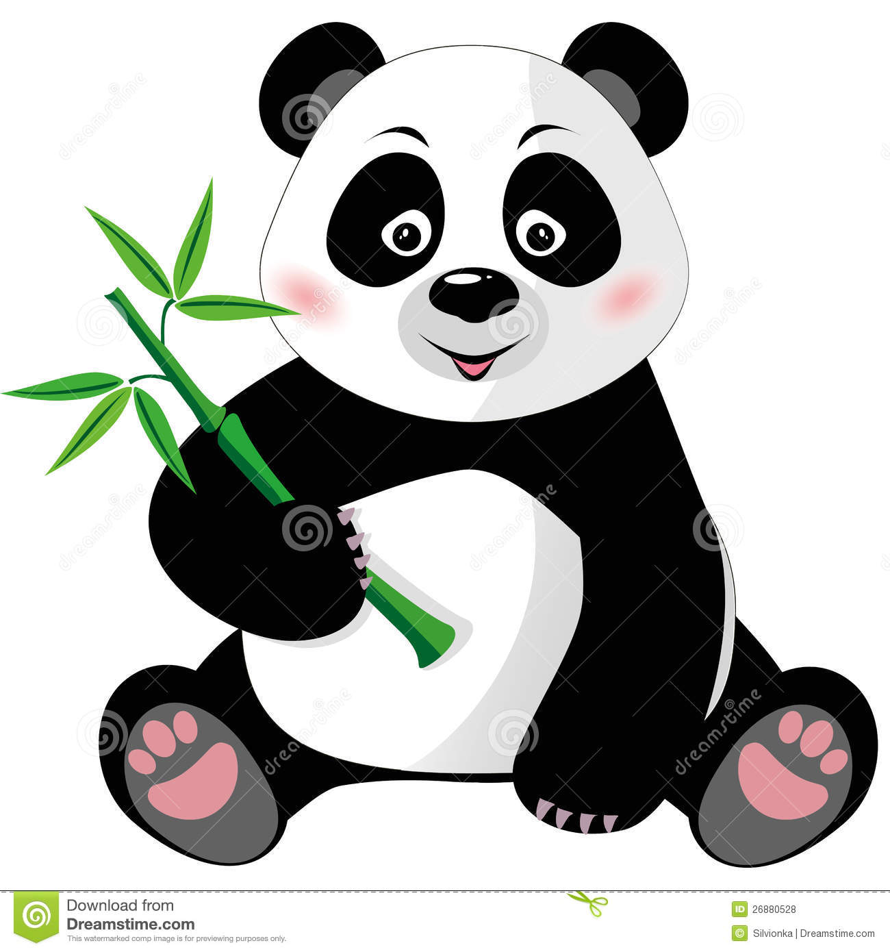 clipart panda cat - photo #43