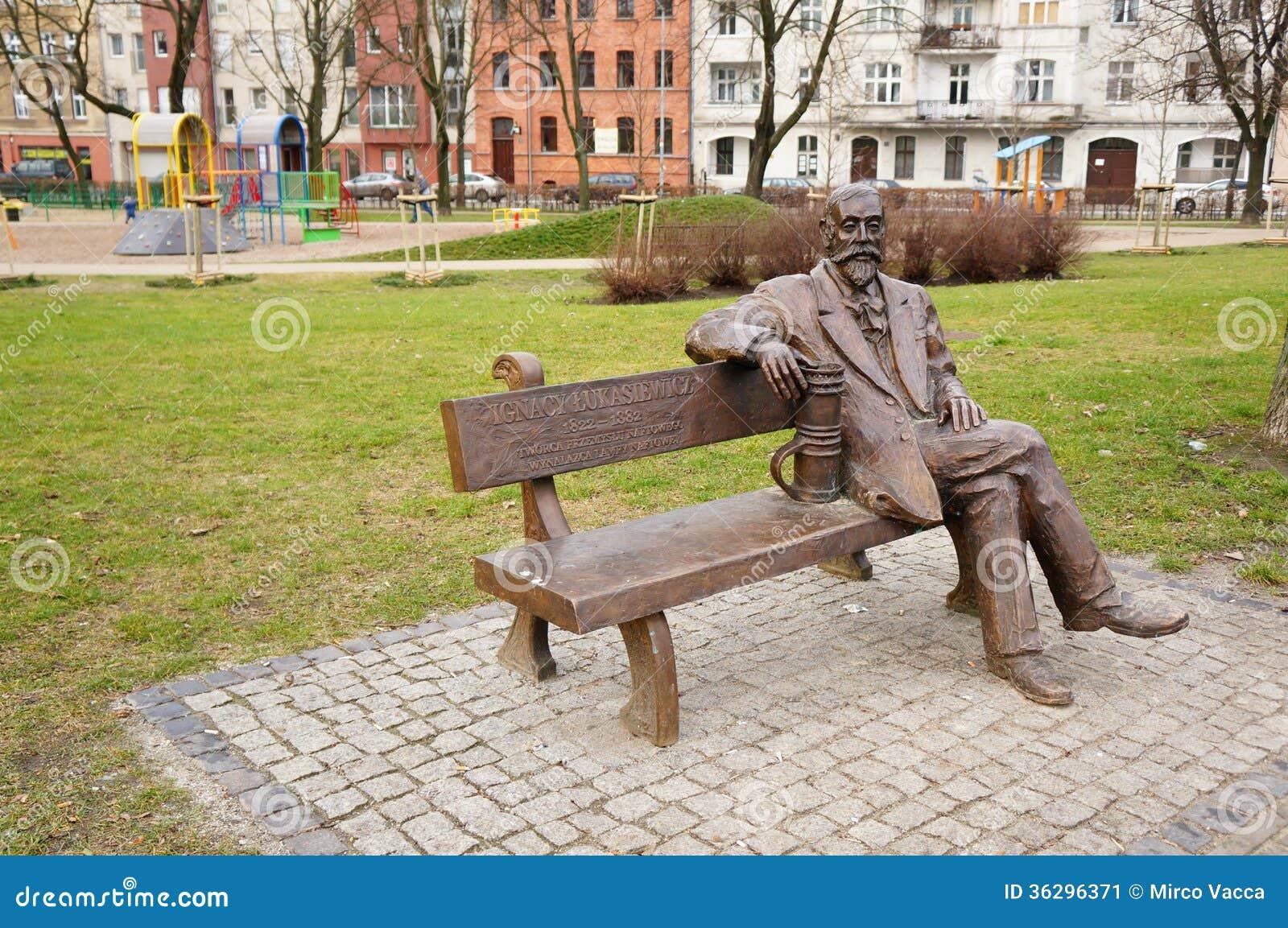 Sitting Man Statue Stock Image Image Of Statue Polish