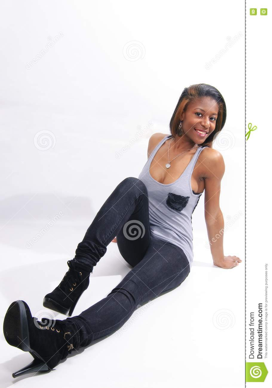 Sitting Pose Stock Photography - Image: 19127492