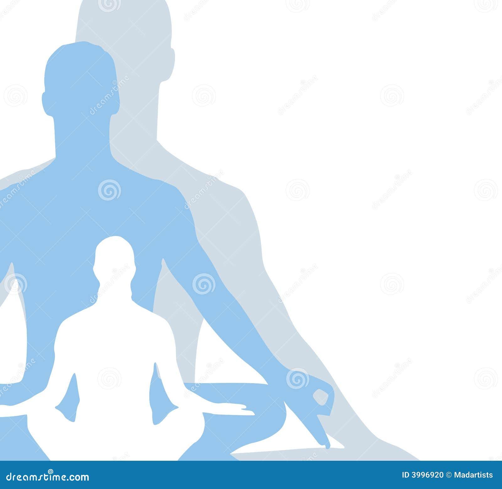Sitting Position Yoga Figures