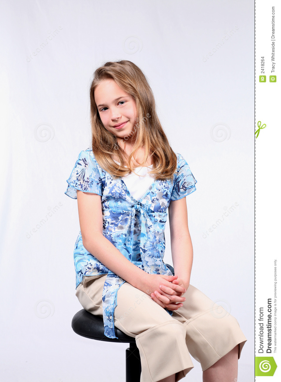 Sitting Pretty Stock Images - Image: 2418264