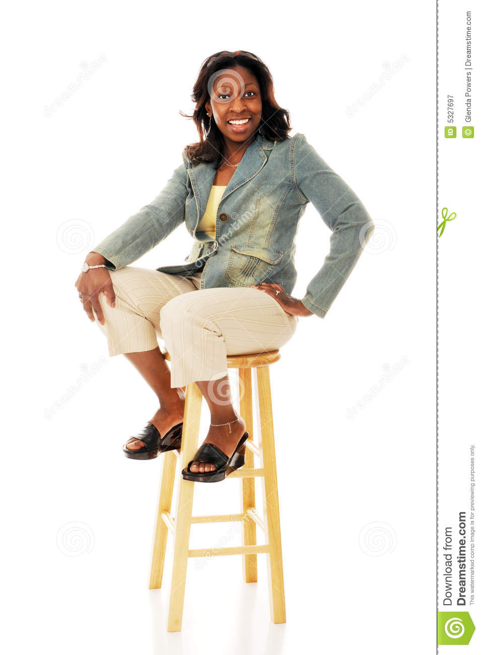 Sitting Pretty Royalty Free Stock Photography - Image: 5327697