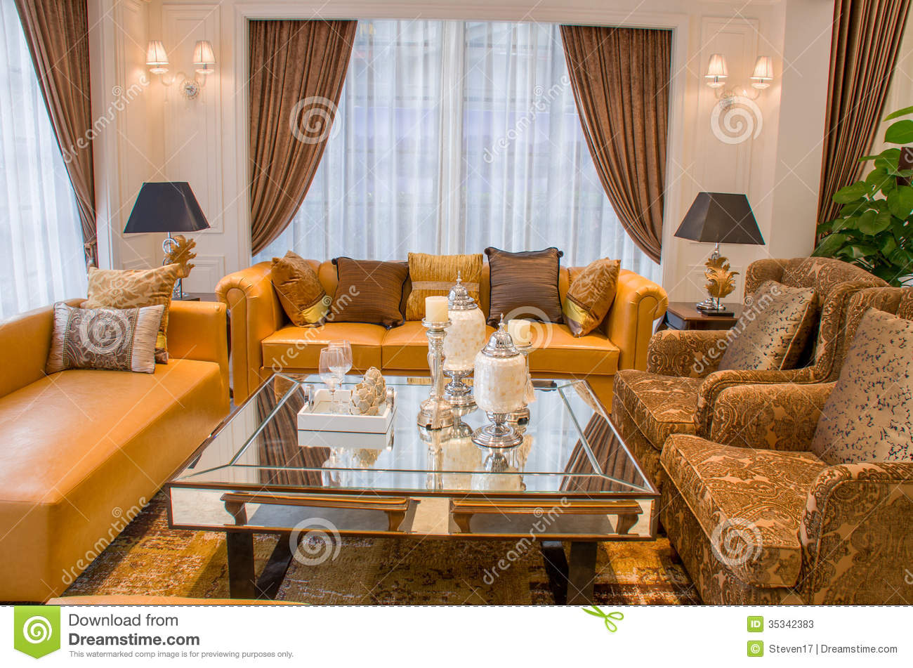Sitting room stock photos image 35342383 for Beautiful sitting rooms