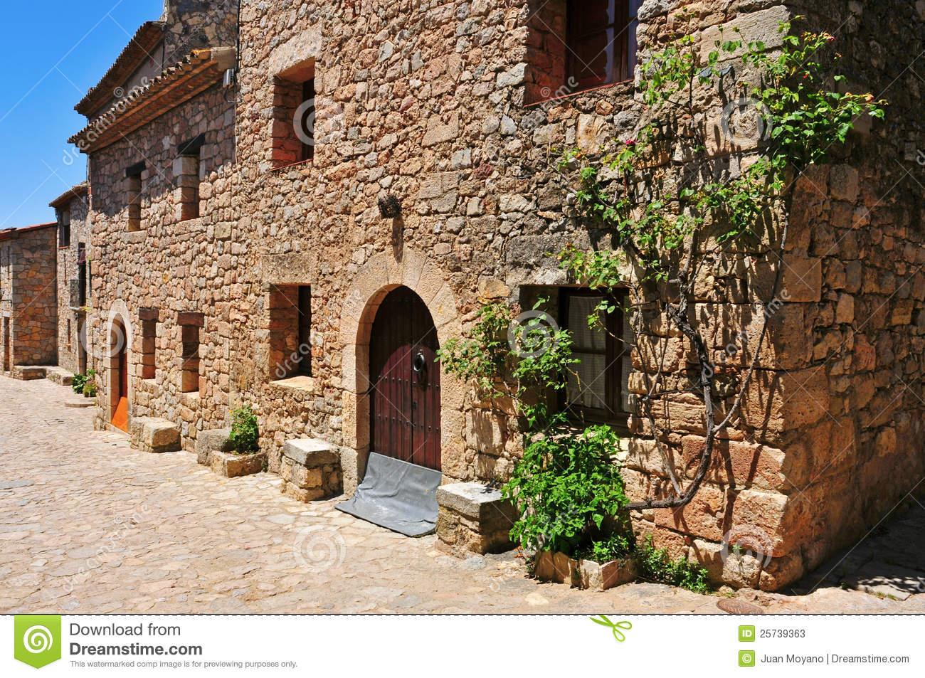 Siurana, an ancient village in Tarragona, S