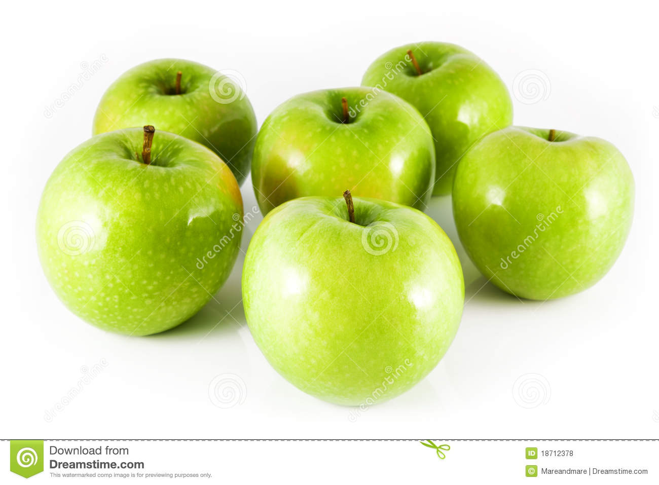 Group Of Six Apples Stock Photo, Royalty Free Image: 28349717 - Alamy