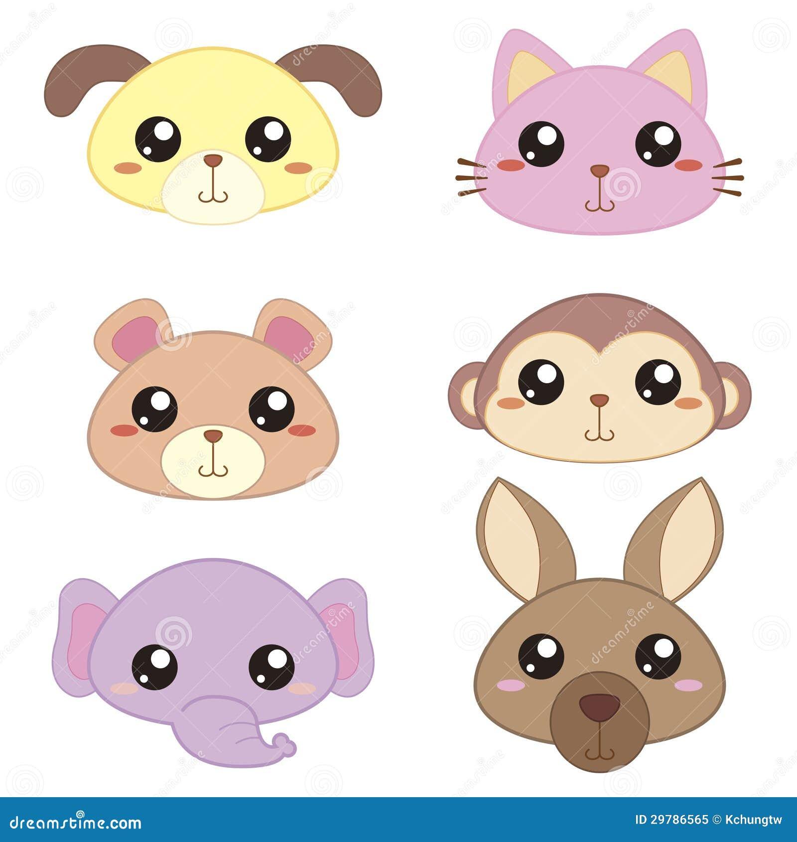 Cute cartoon animals with big eyes - Cute Cartoon Animals With Big Eyes Wallpaper Photo 26
