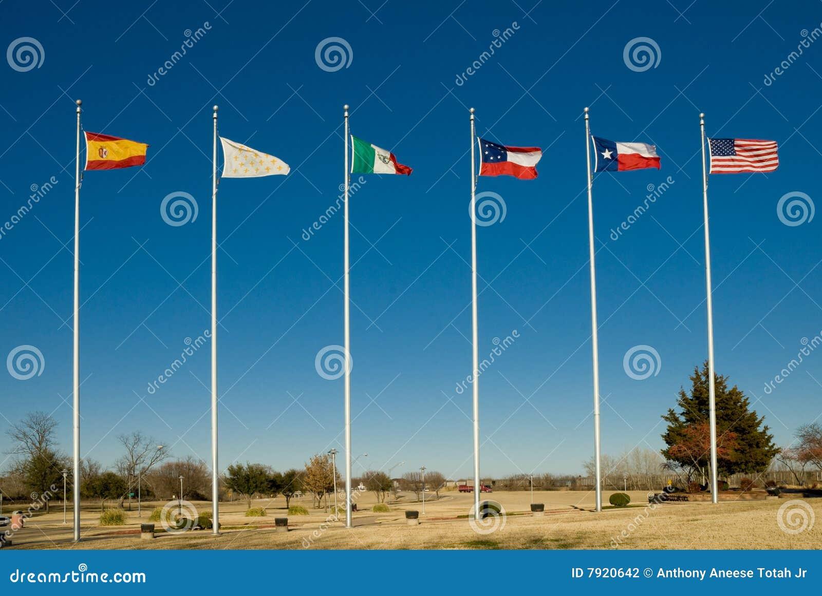Six Flags of Texas stock photo  Image of celebration