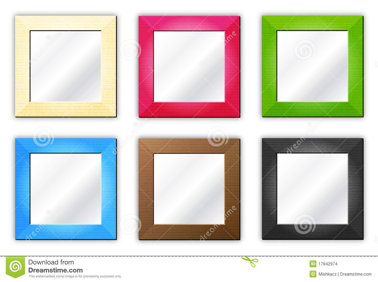 colored frames for pictures