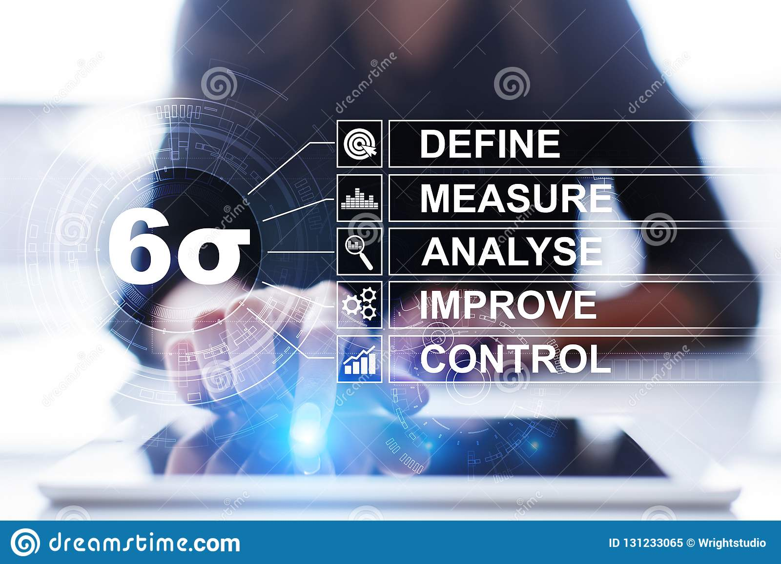Six sigma - set of techniques and tools for process improvement.