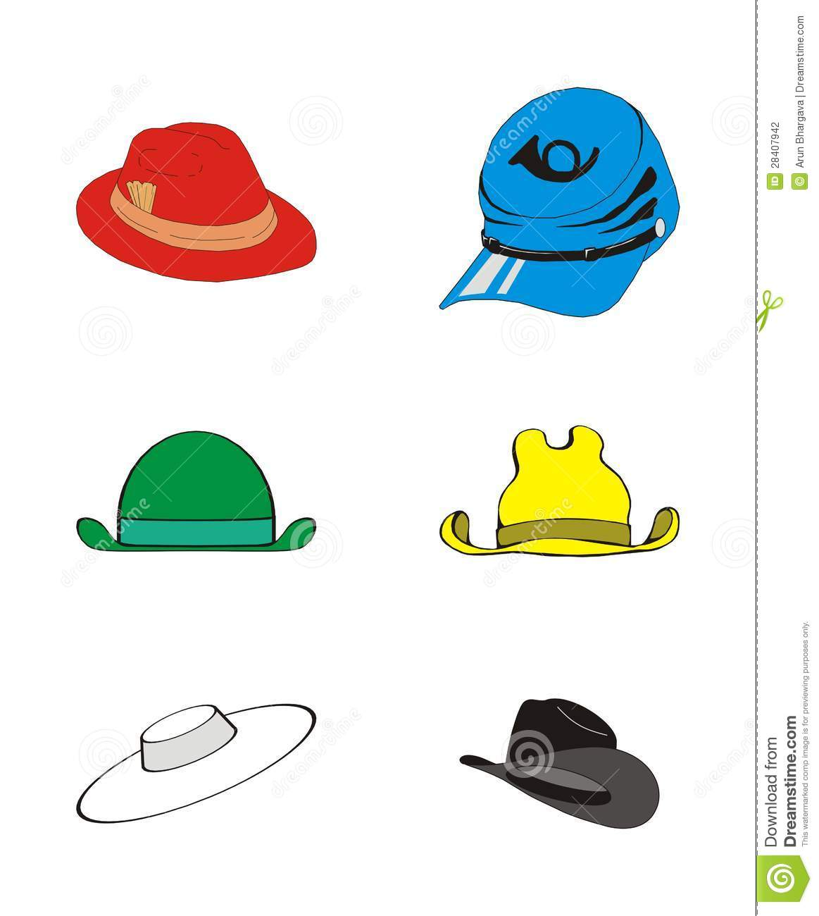 Il Ration Of Six Thinking Hats Management Concept