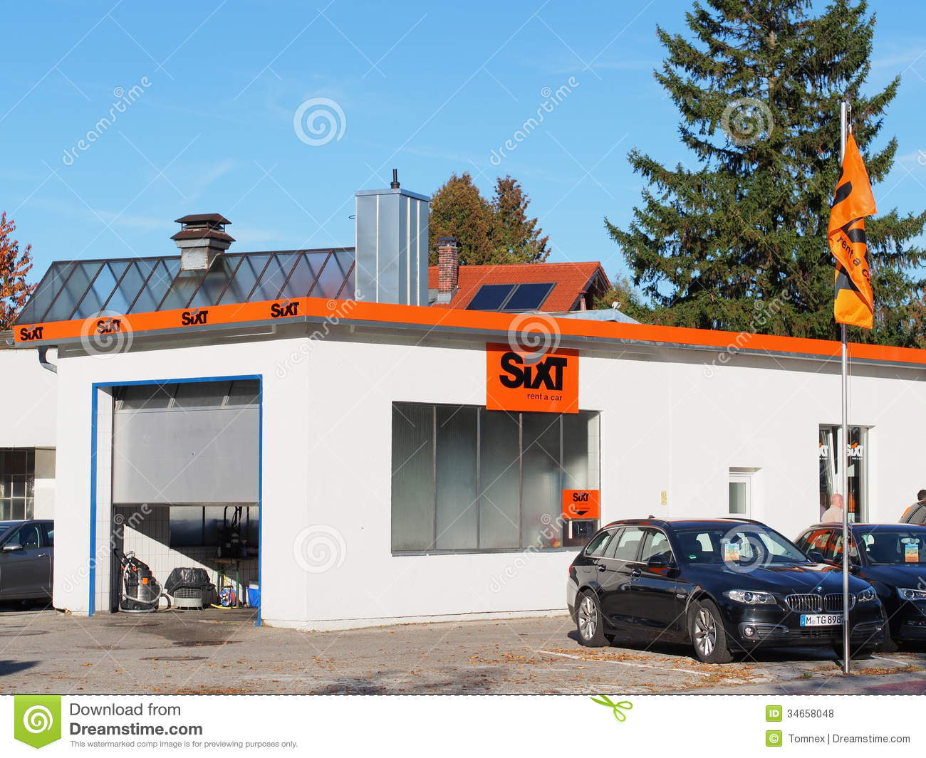 Sixt Editorial Stock Photo. Image Of German, Copyspace