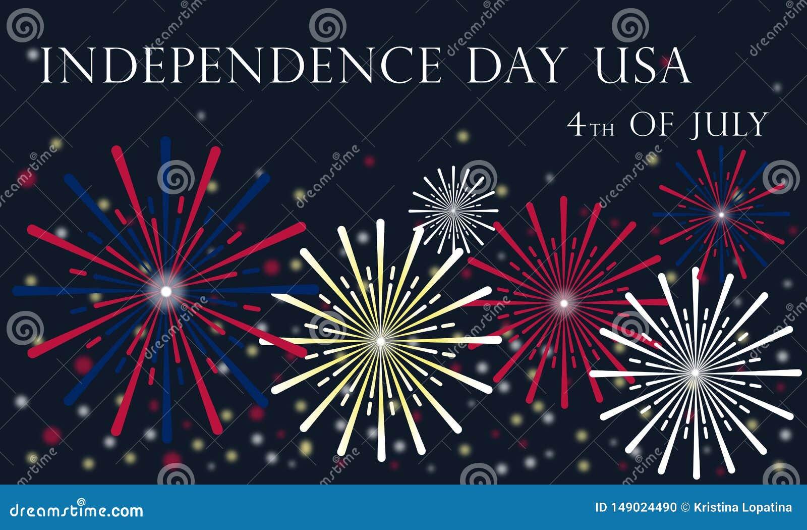 Självständighetsdagen av Förenta staterna Juli 4, 2019