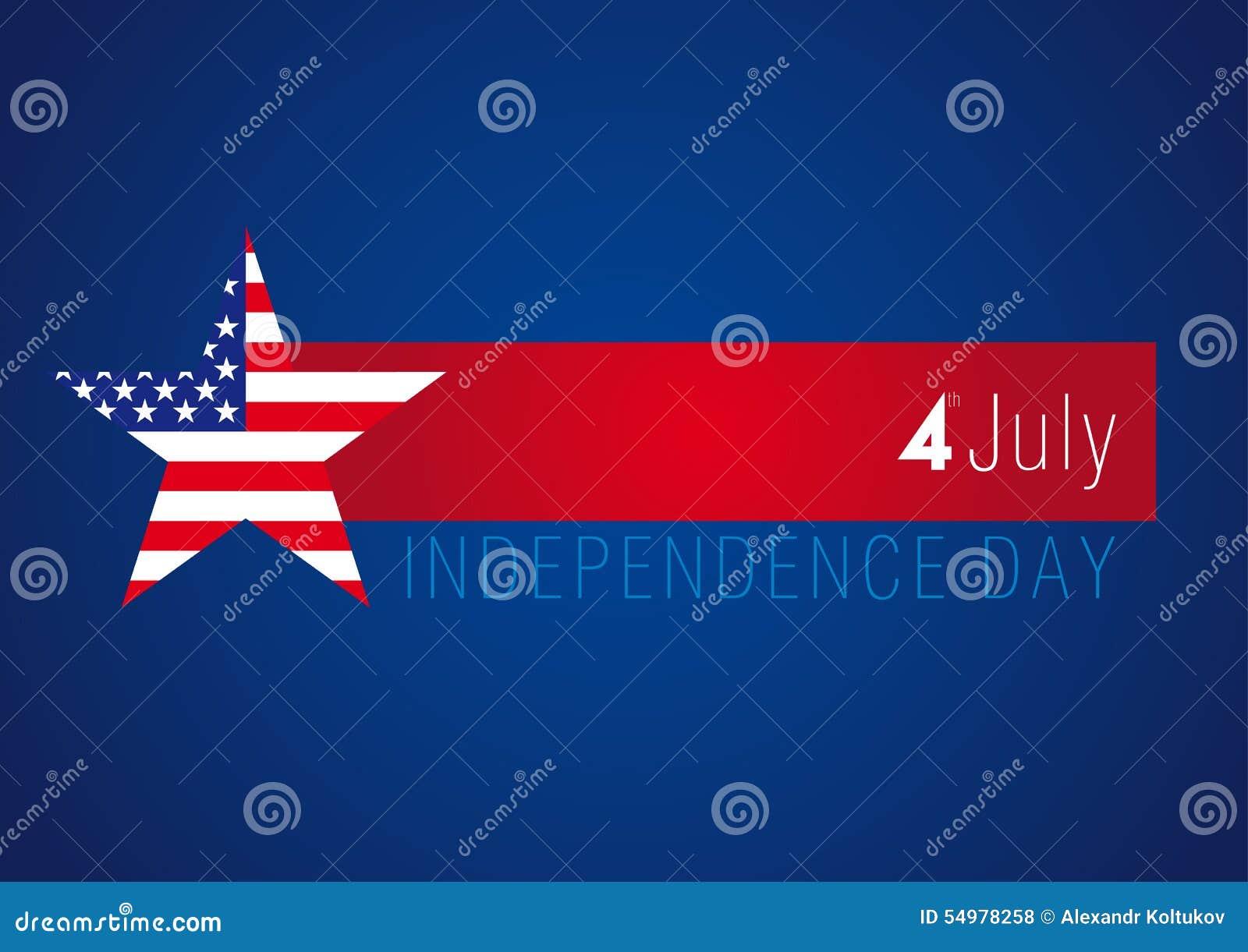 SjälvständighetsdagenUSA baner