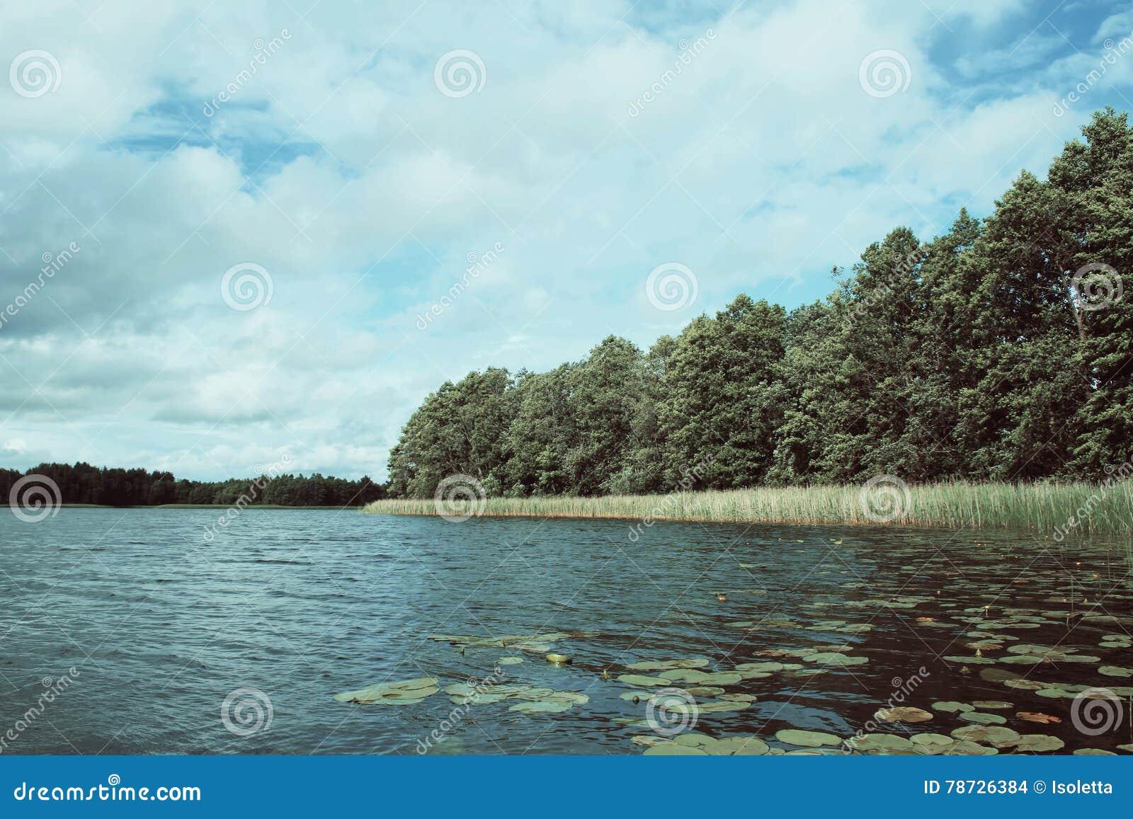 Sjö i Lettland