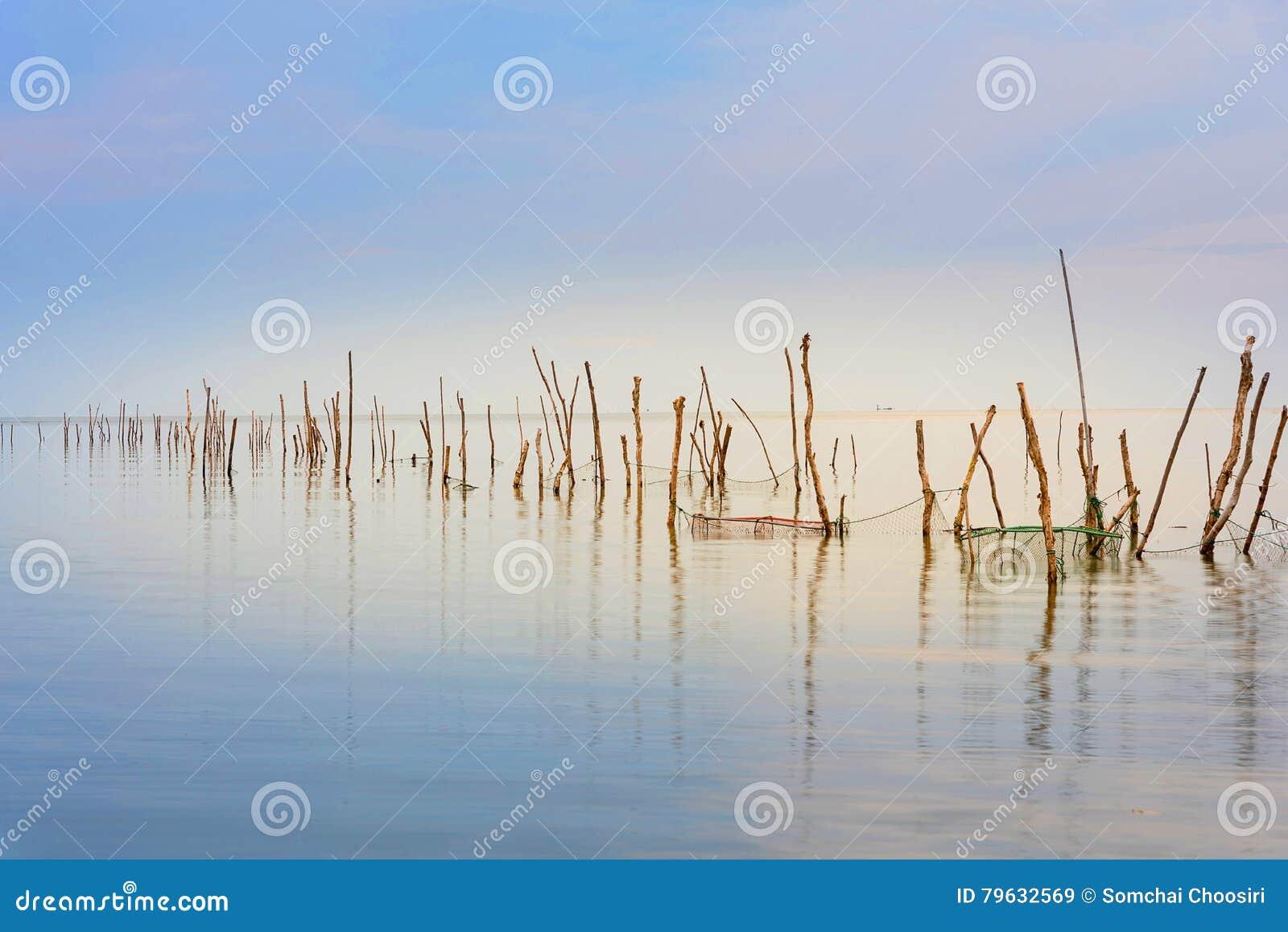 Sjön är tom