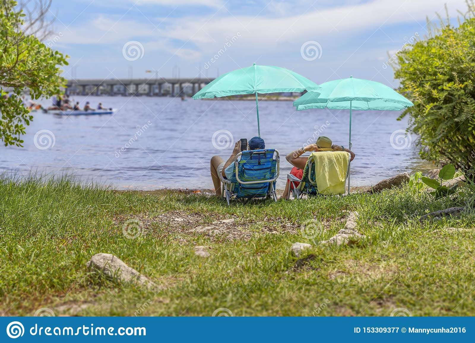 Sjövärde, Florida, USA Juli 4, 2019, 4th av Juli aktiviteter