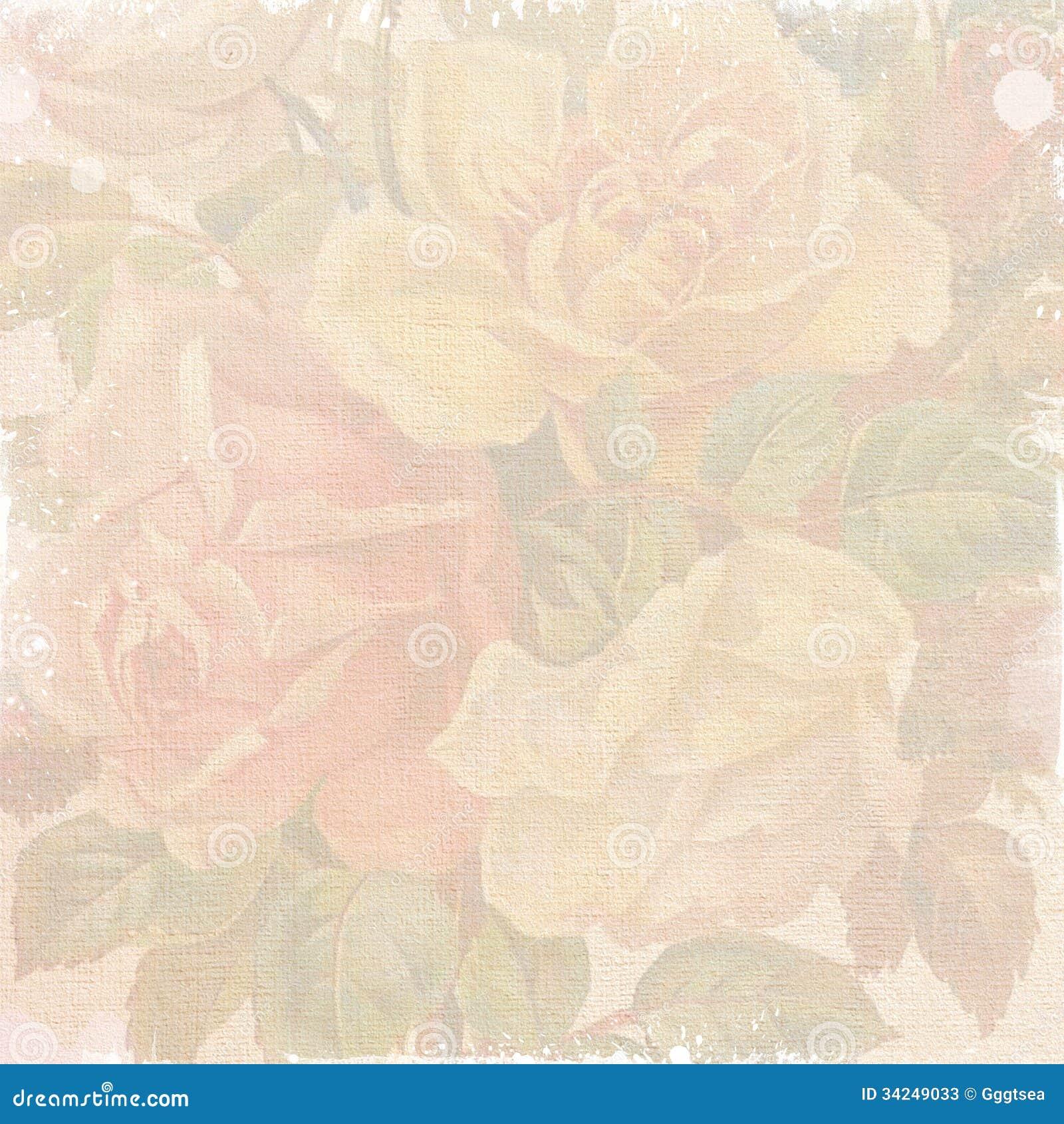 Sjofel bloemenbehang