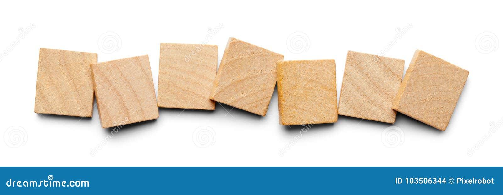 Sju Wood tegelplattor