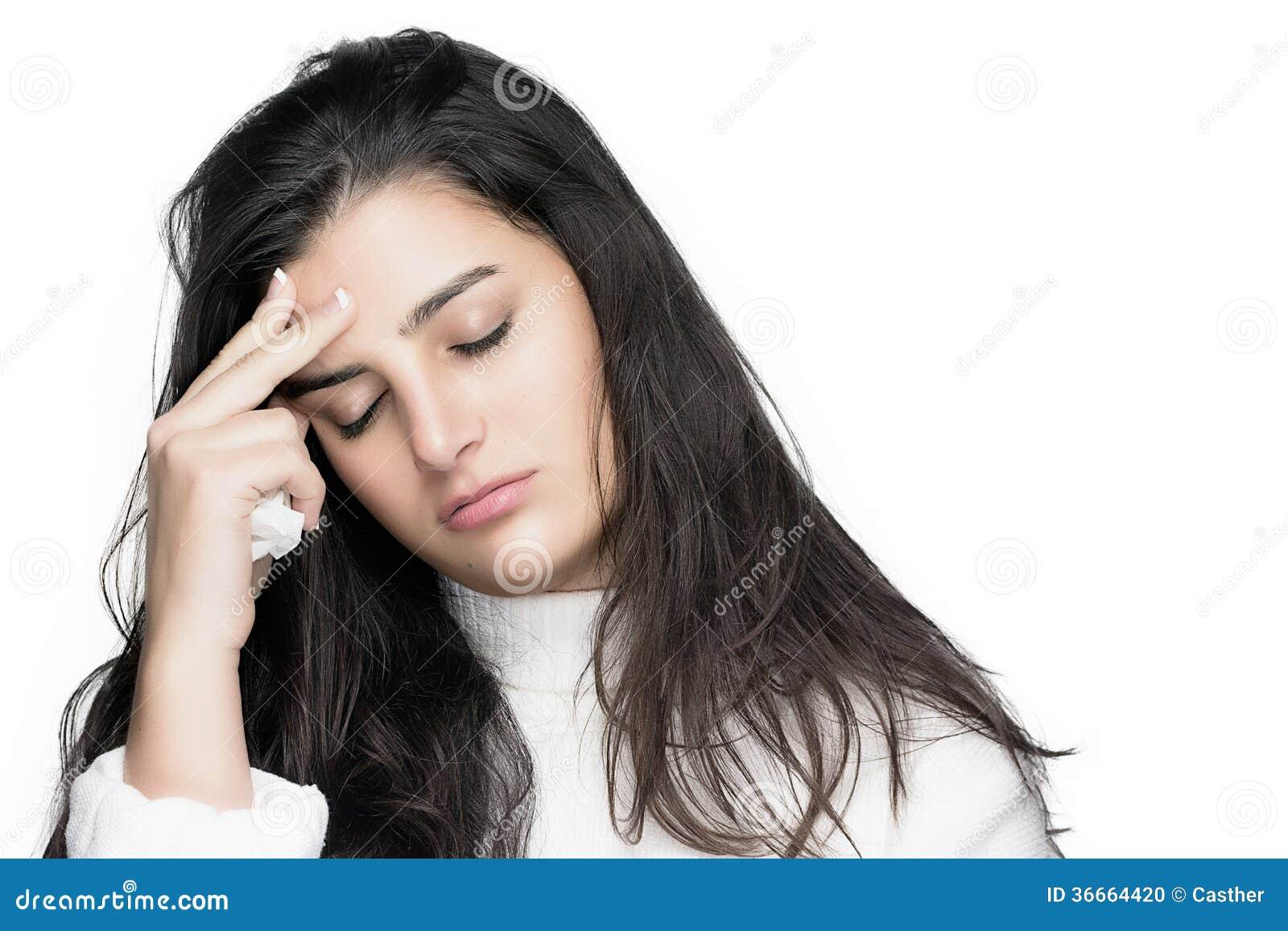 huvudvärk av allergi