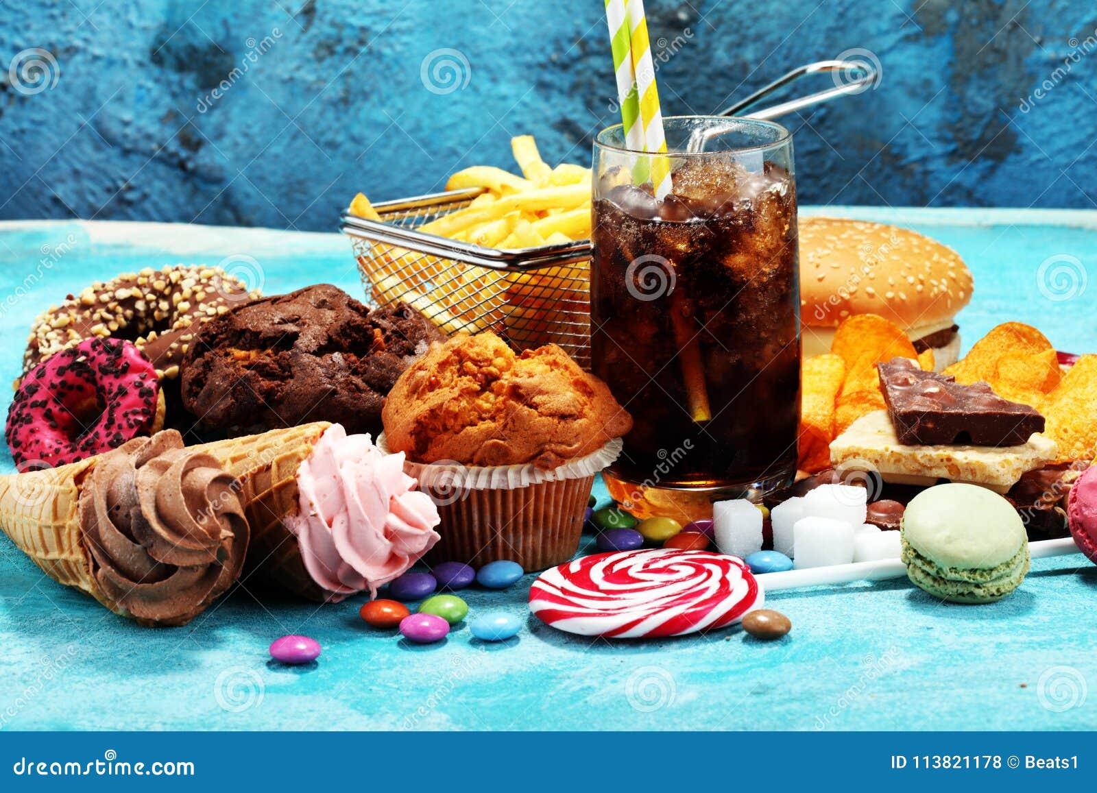 Sjukliga produkter matbad för diagram, hud, hjärta och tänder