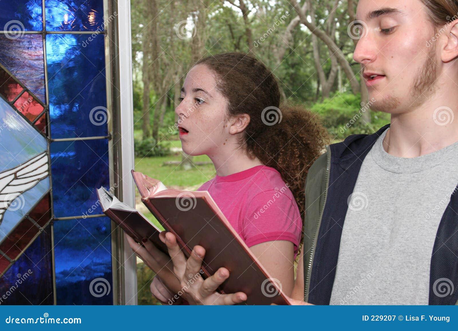 Sjunga för 2 kyrkligt psalmer