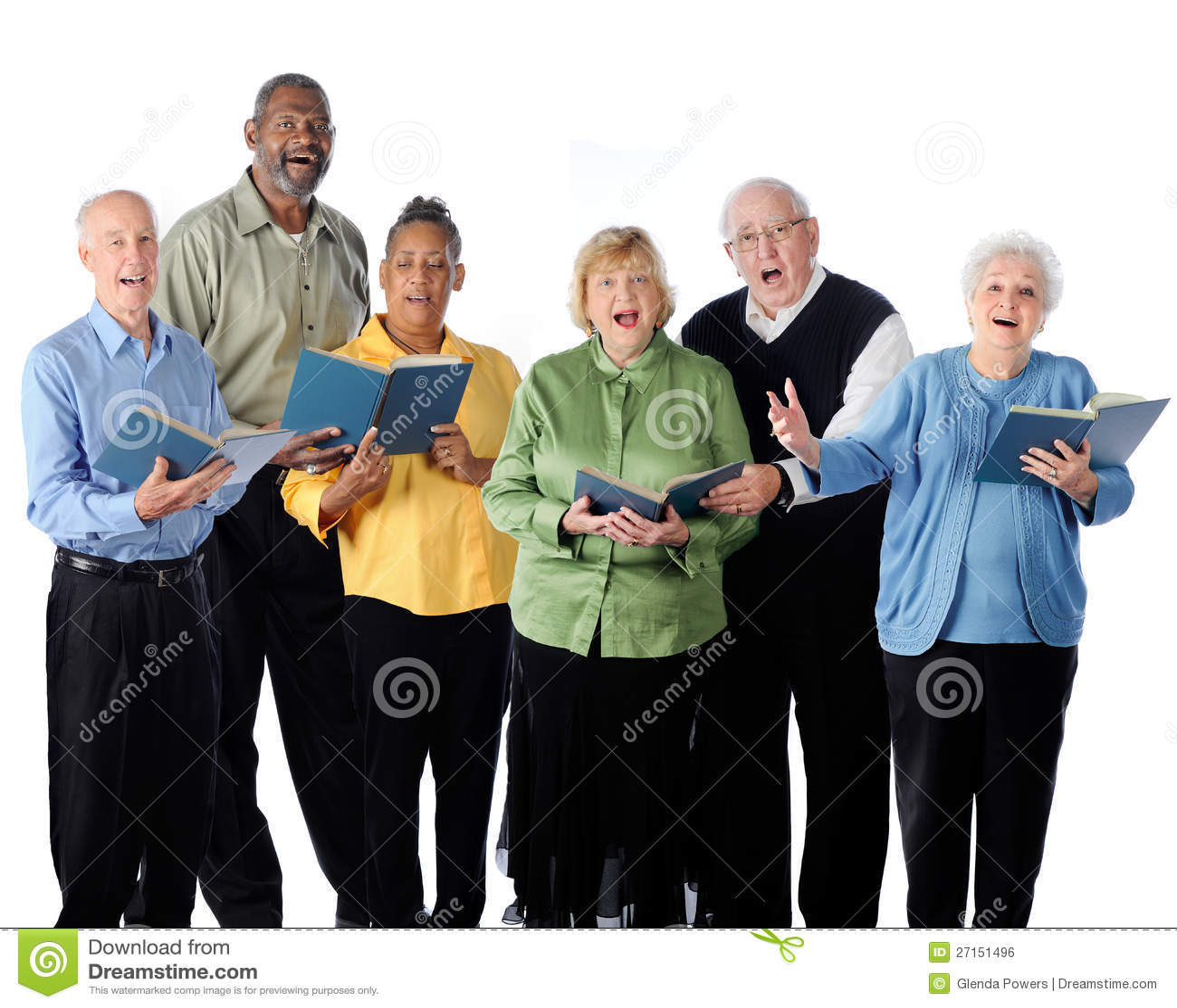 Sjungande pensionärer