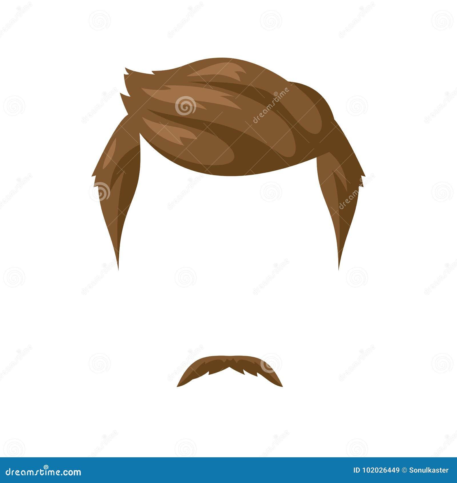 Skägg, mustasch och frisyr