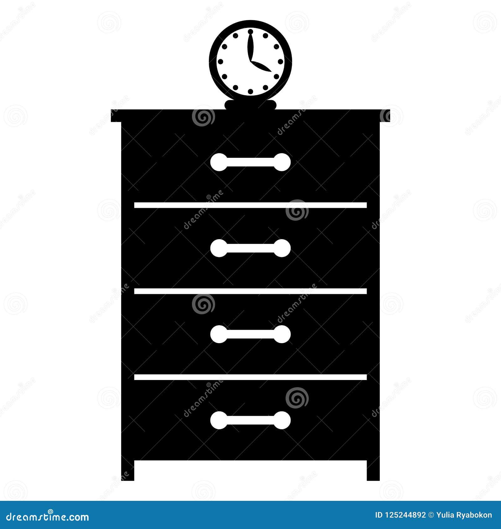 Skänk med en enkel symbol för klocka