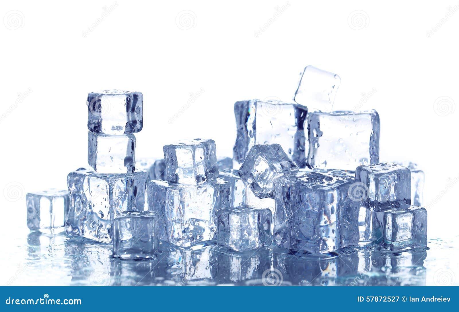 Skära i tärningar issmältning